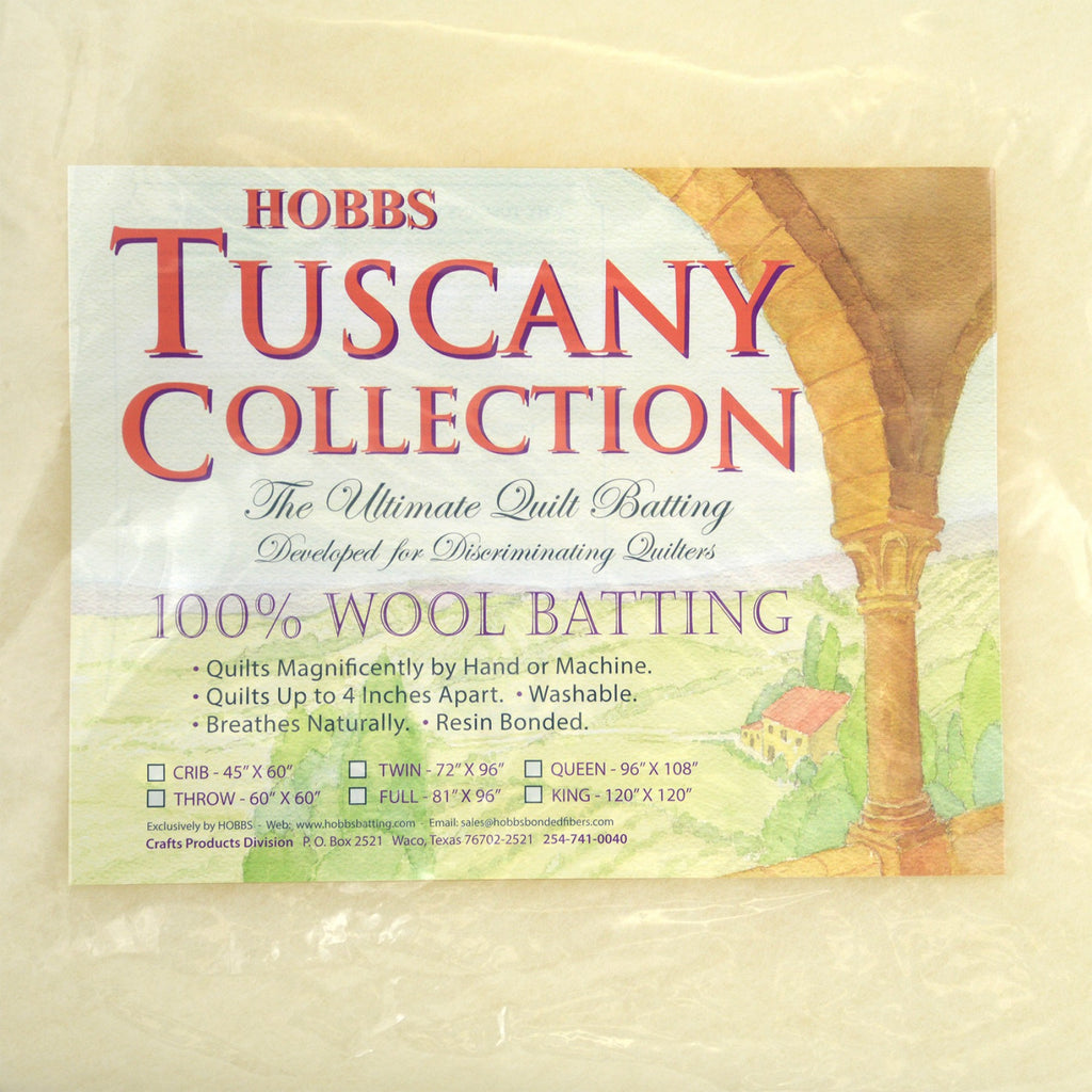 Hobbs Tuscany Wool Batting