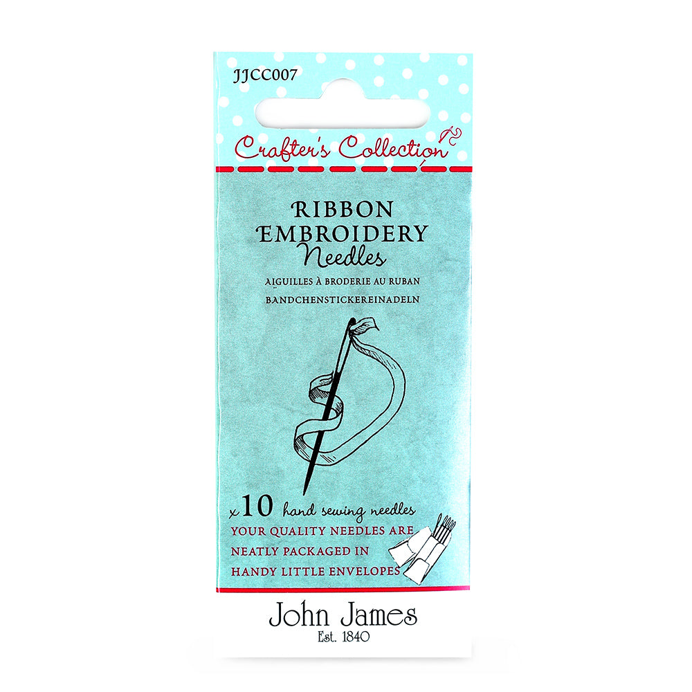John James Ribbon Embroidery Needles