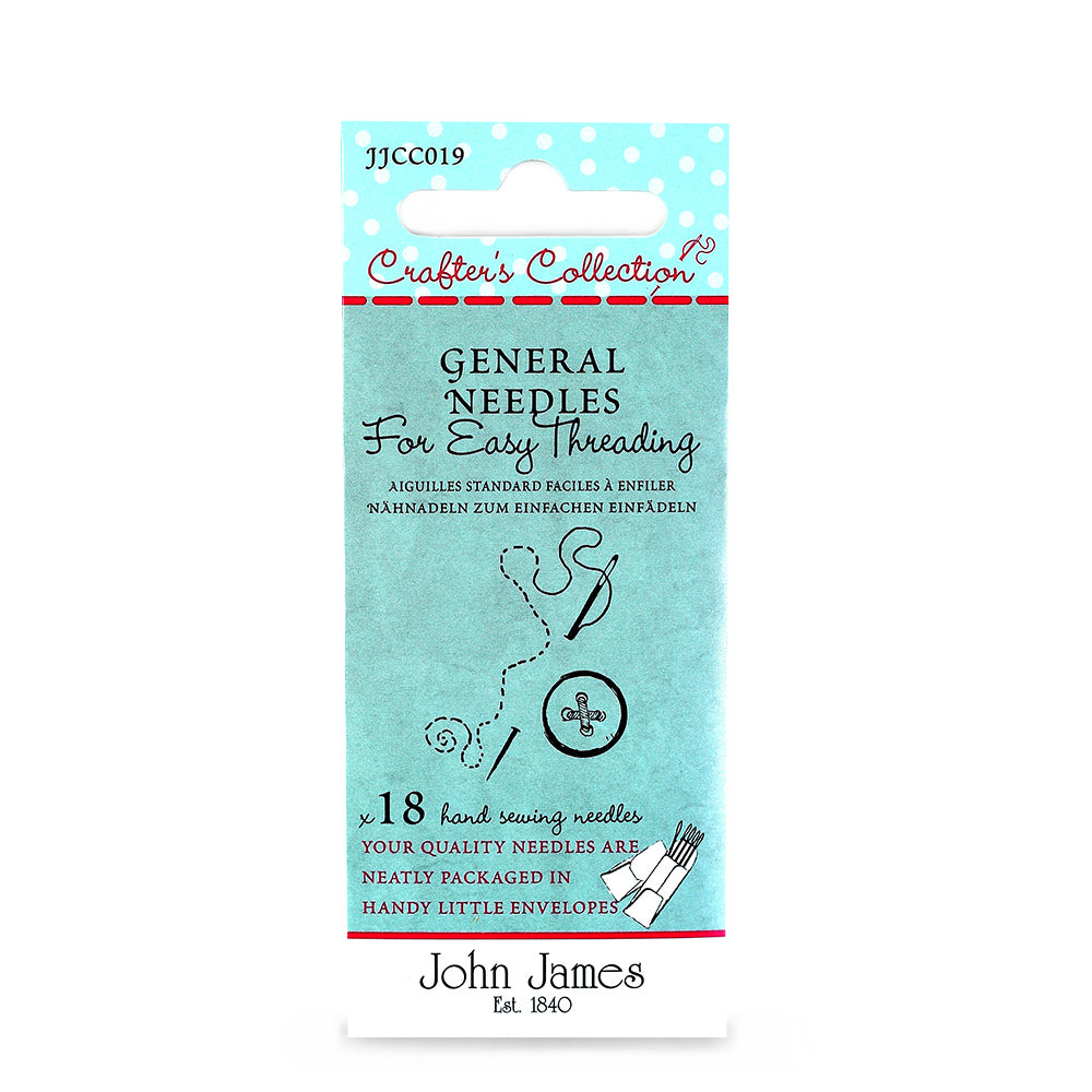 John James General Easy Threading Needles