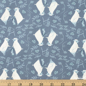 Sheepish Fabric - Trapunto