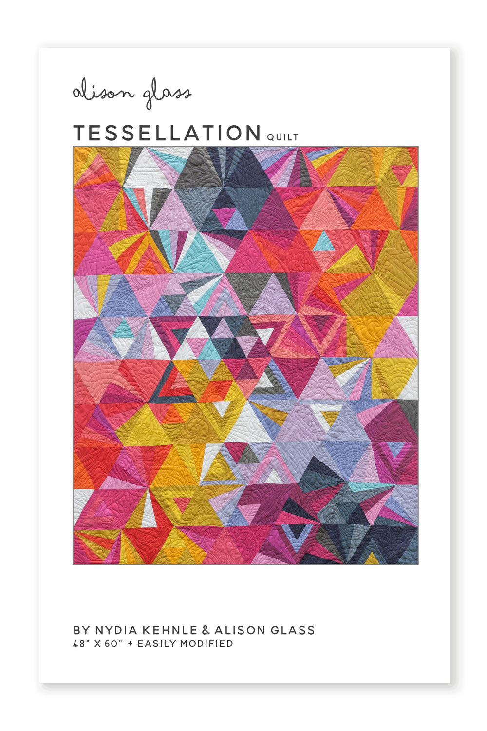 Alison Glass - Tessellation Quilt Pattern - Trapunto