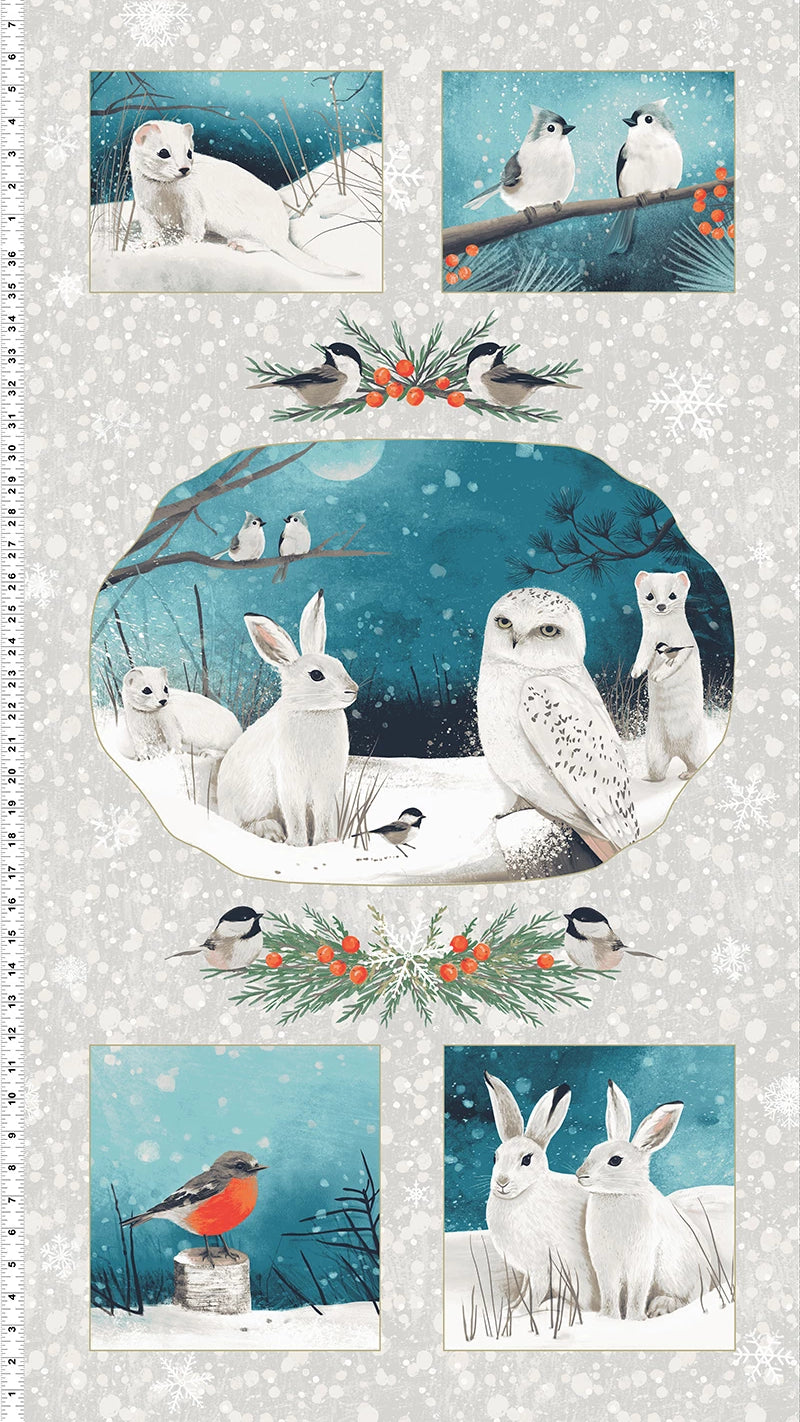 Winter Woodland - Panel