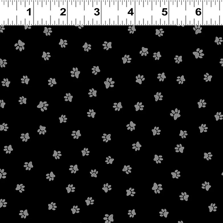 Snarky Cats Fabric - Trapunto