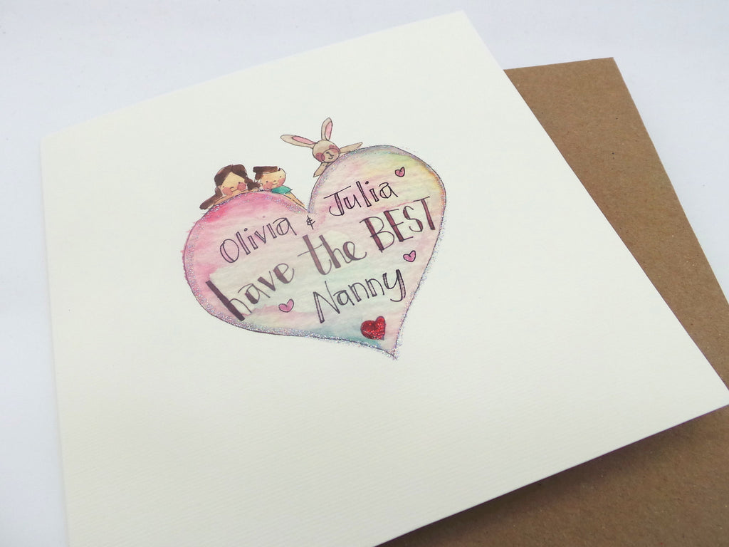"""Have the Best"" Card - Personalised"