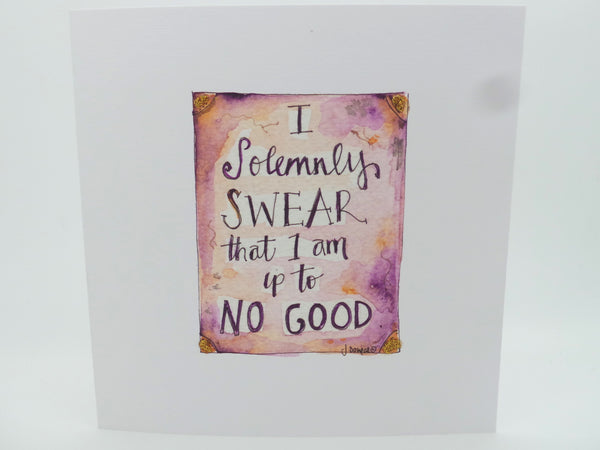 """Up to no good"" Card - Personalised"