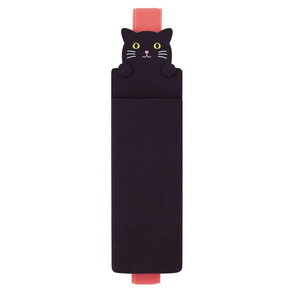 Black Cat PuniLabo Stand Book Band Case