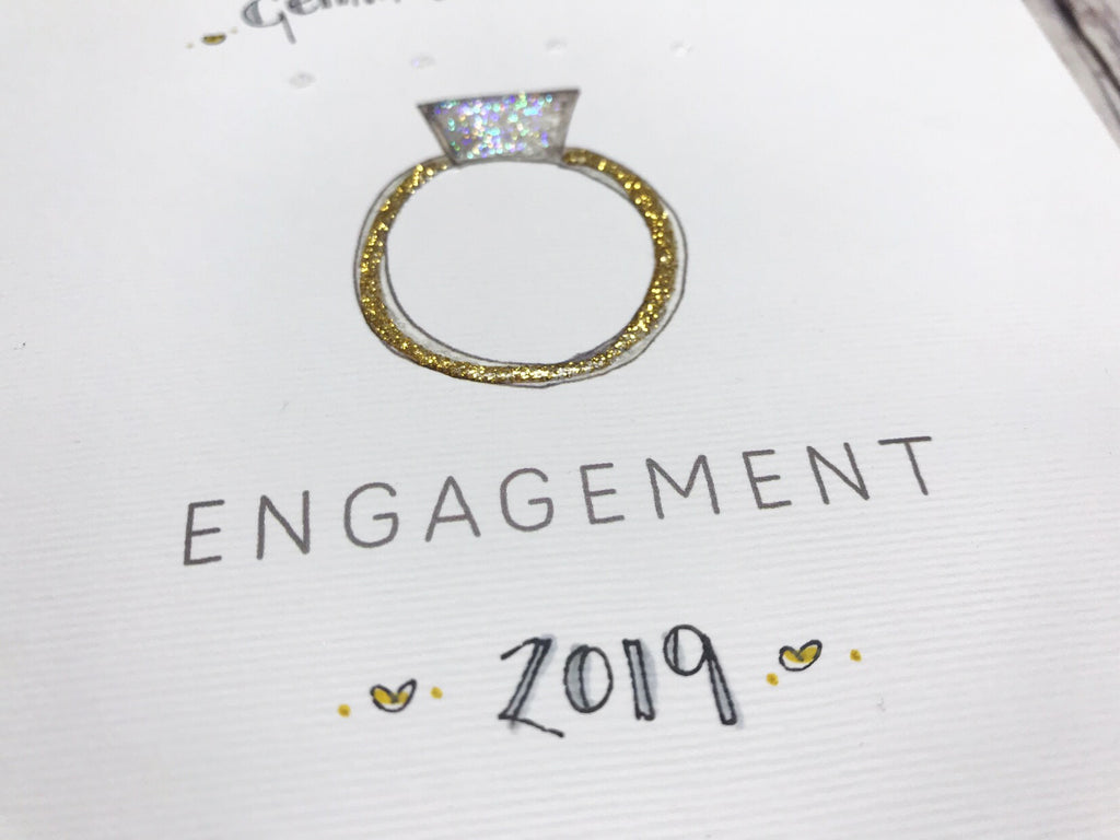 Engagement Card - Ring - Personalised