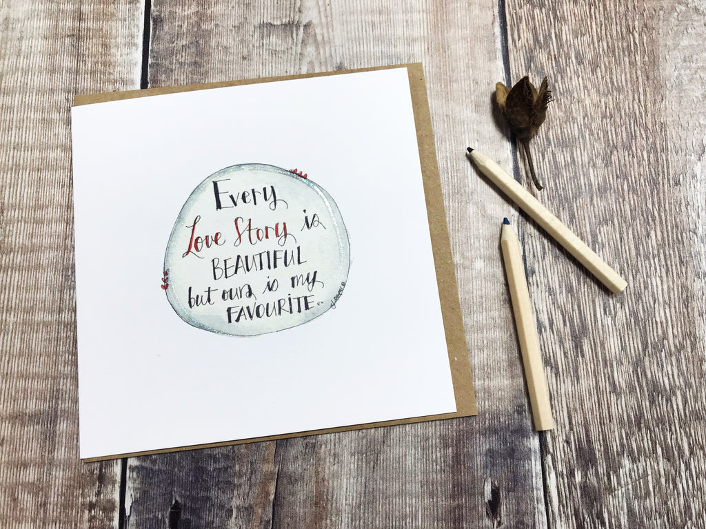 Every Love Story Card - Personalised