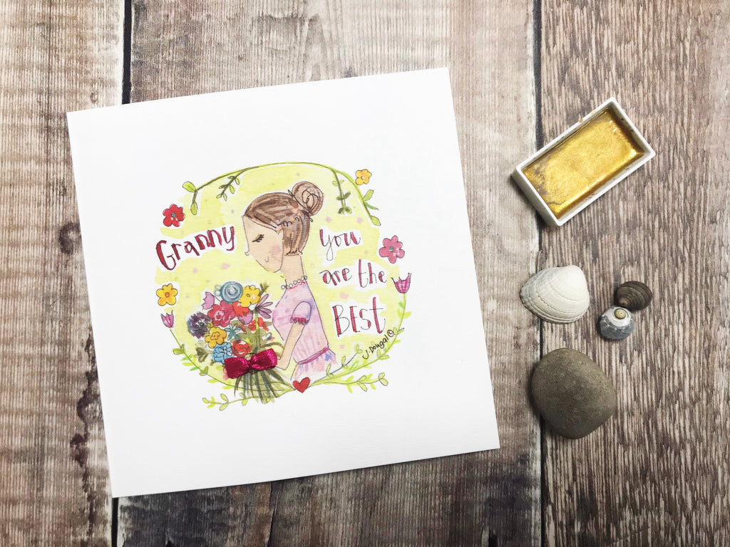 Special Granny Card - Personalised