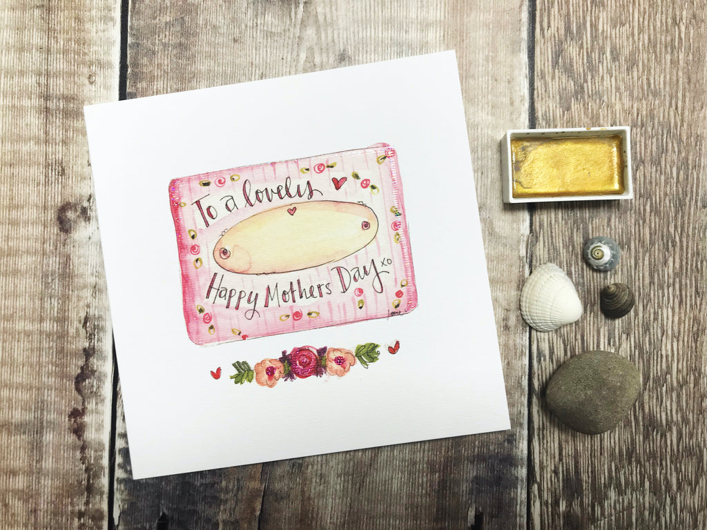 Happy Mothers Day (insert Name) Card - Personalised