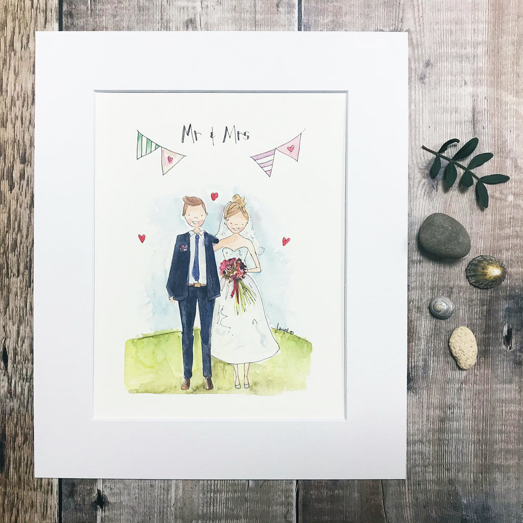 """Mr and Mrs Wedding"""
