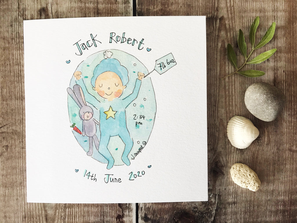 Baby Boy - Personalised