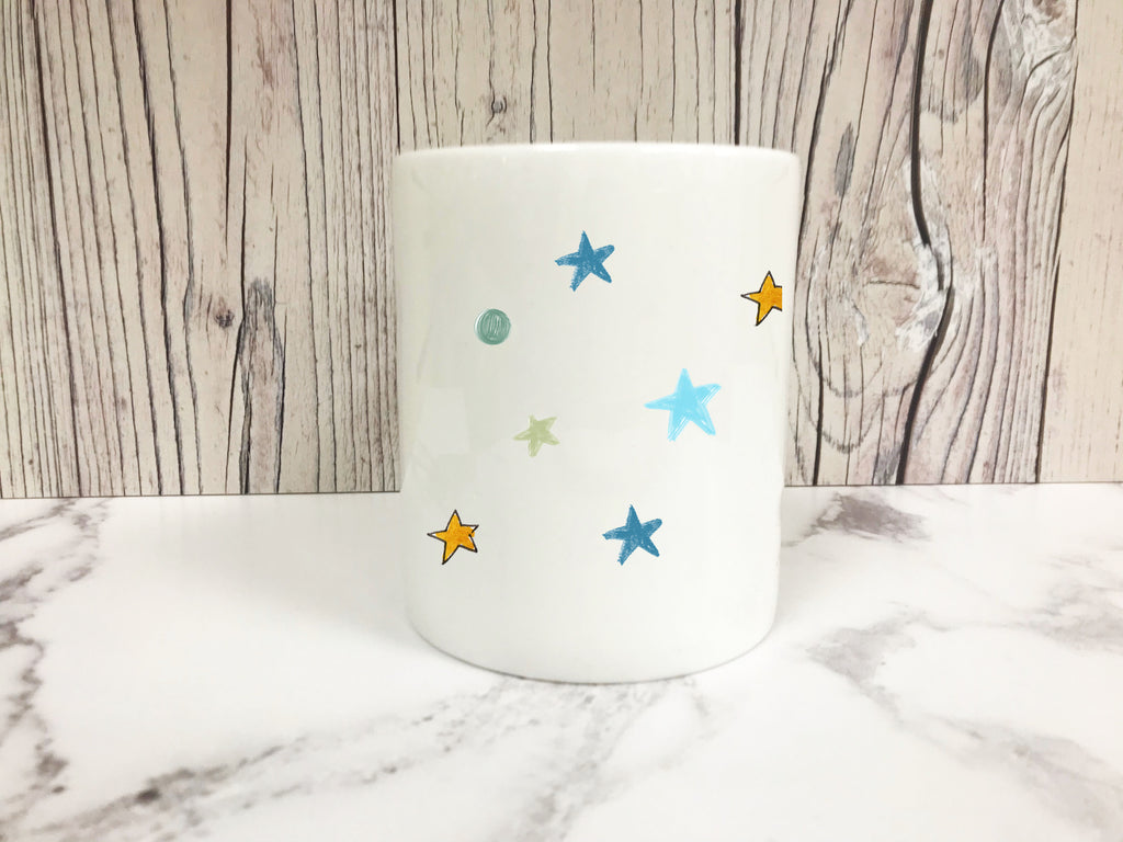 Star Mug 11oz Bone China