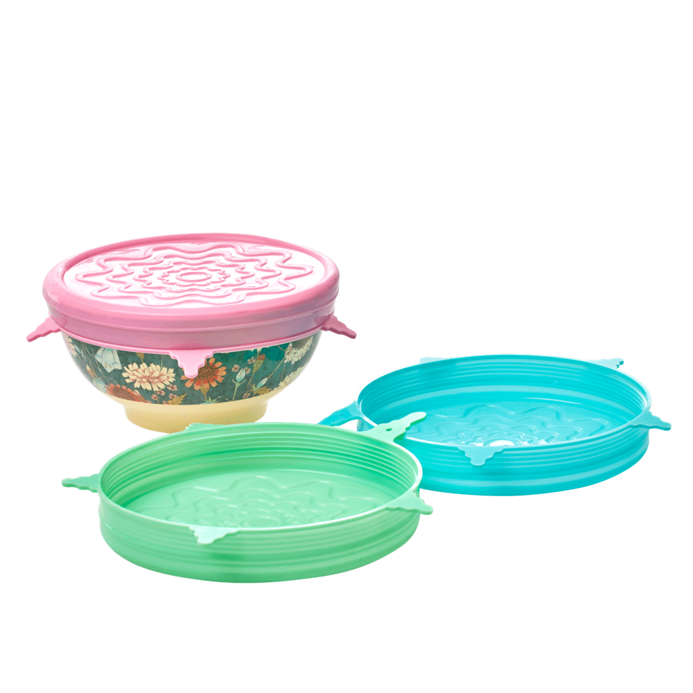 Silicone Lid for Rice Melamine Bowls