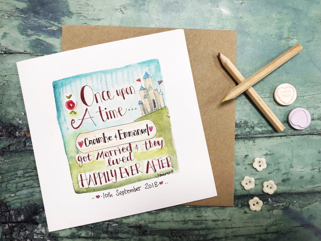 """Once Upon a Time"" Card - Personalised"