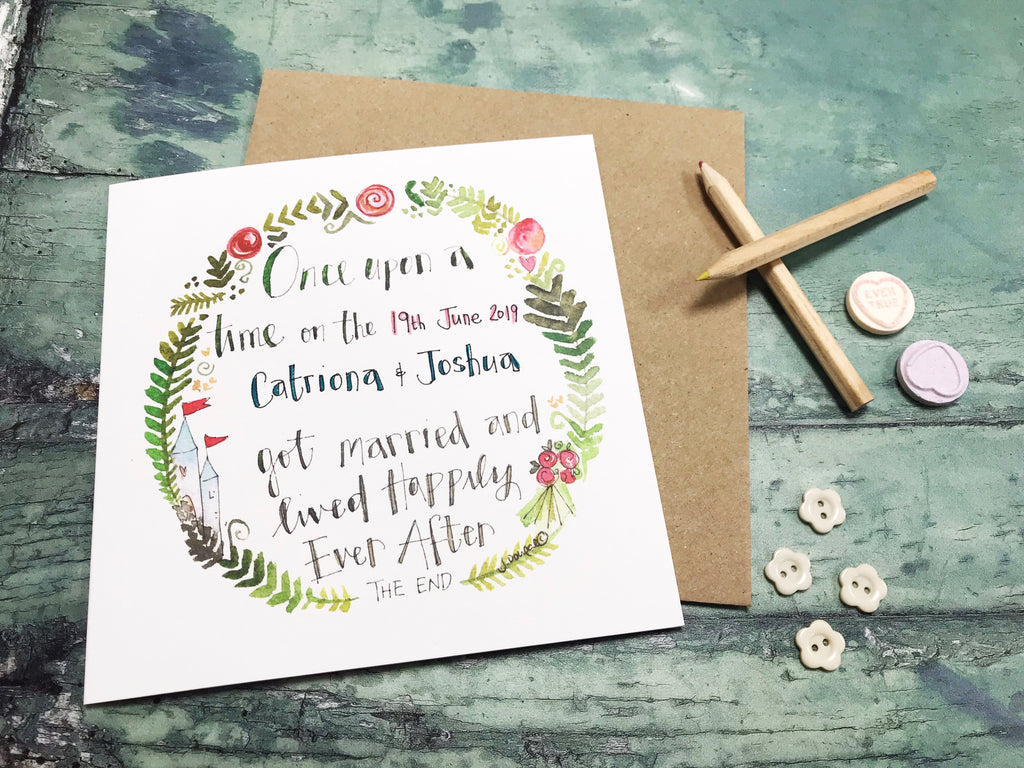 Once Upon a Time Card - Personalised