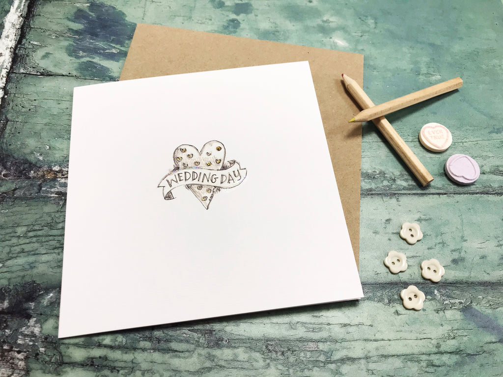 Wedding Day Card- Personalised