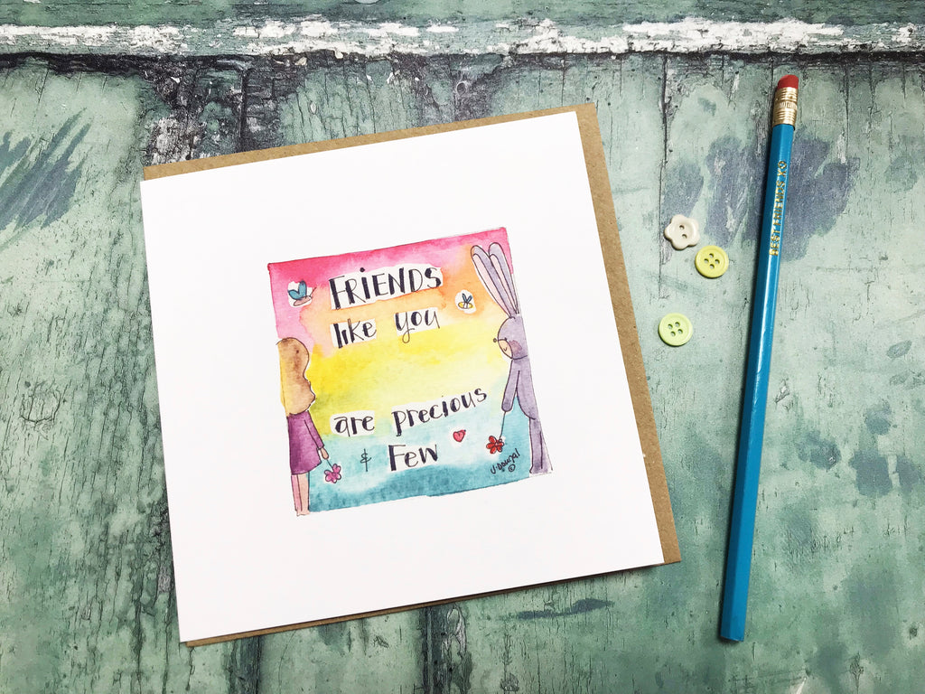 Friends like You Card - Personalised