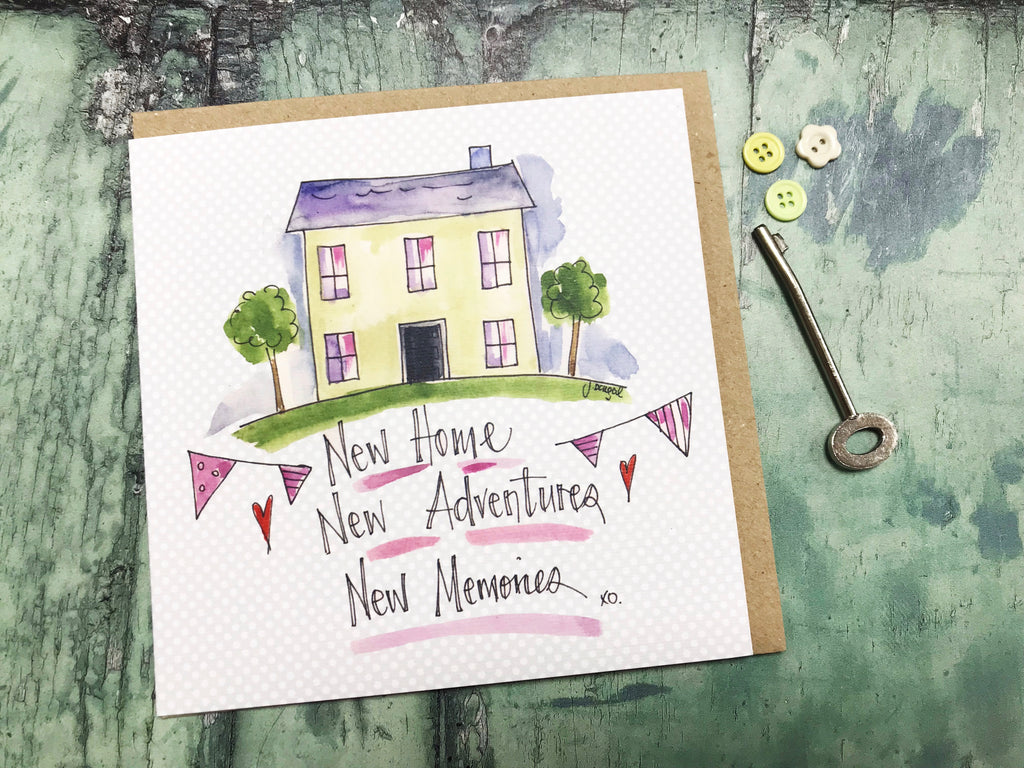 """New Home"" Card - Personalised"