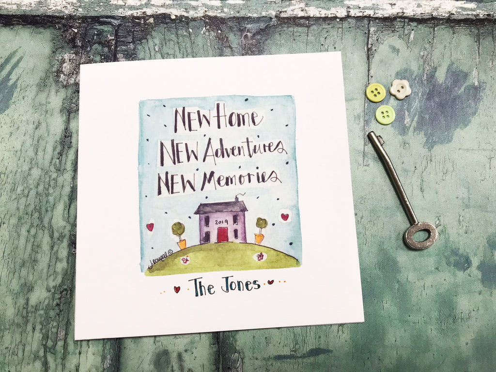 """New House"" Card - Personalised"