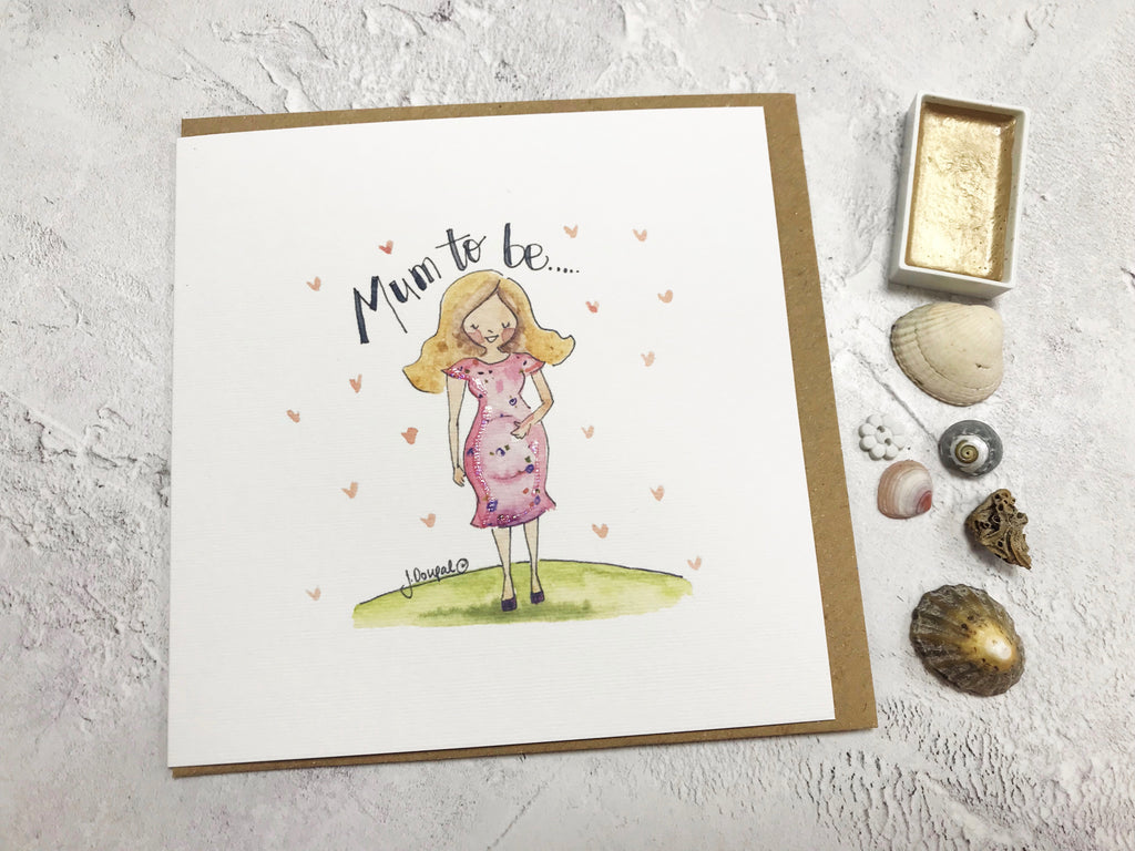 Mum to Be Card - Personalised