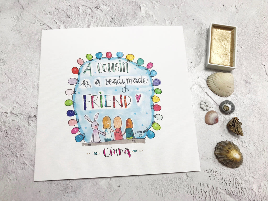 Cousin Card - Personalised
