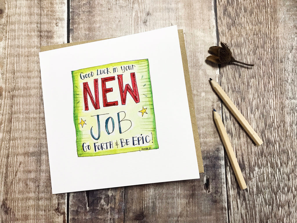 """New Job"" Card - Personalised"