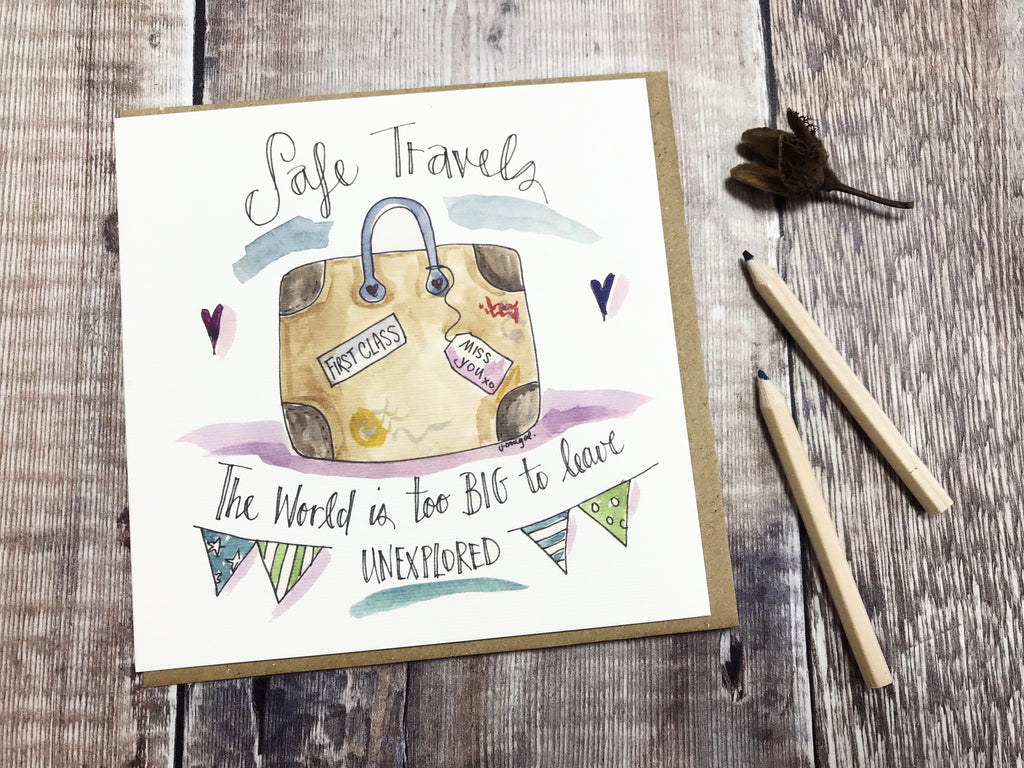 Safe Travels Card - Personalised