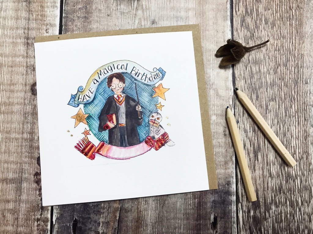 """Have a Magical Birthday"" Card - Personalised"