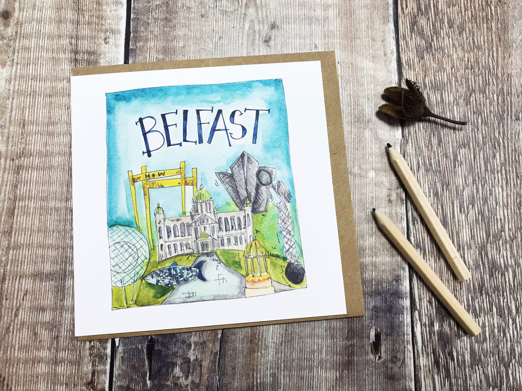 Belfast Card - Personalised