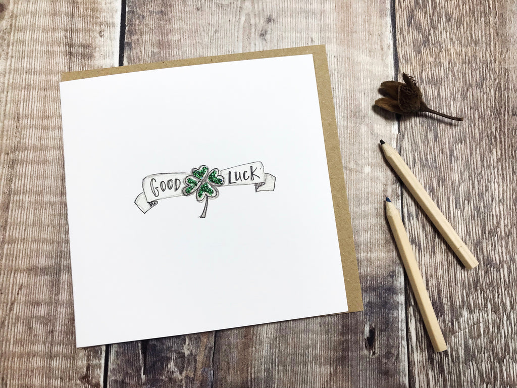 Good Luck Card - Personalised