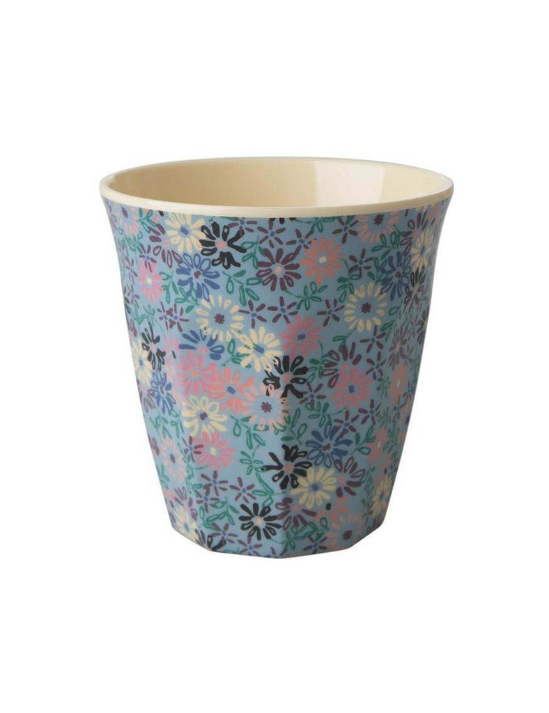 Rice Boogie Print Melamine Medium Cup