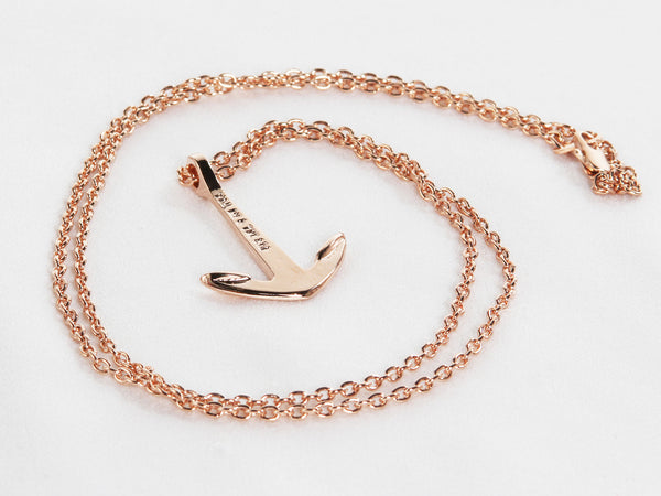 Classic Anchor Necklace