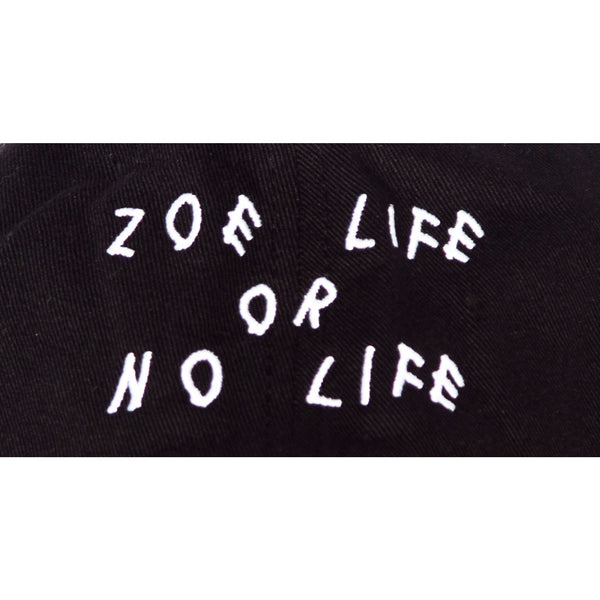 "Black ""ZLNL"" Dad Hat"