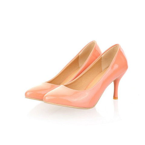 Ms. Confident Pointed Toe High Heel