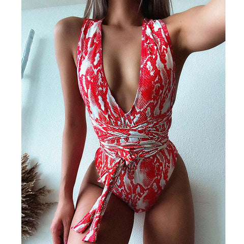 Ms. Confident Bandage One Piece Swimsuit