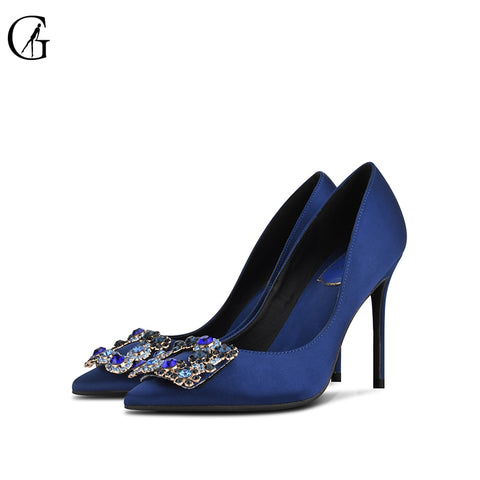 Ms. Confident High Heels Rhinestone