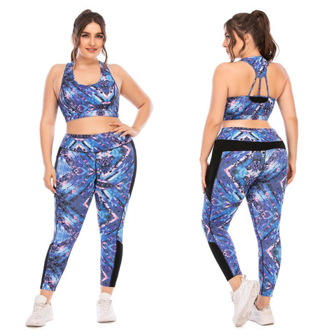 Ms. Confident Yoga Suit Gym Sport Running Sets