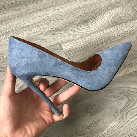 Ms. Confident Suede Super High Heels