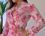 Long Sleeve Blouse Casual Spring Shirts