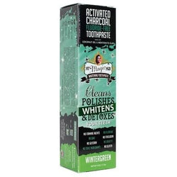 MY MAGIC MUD Activated Charcoal Toothpaste for Whitening Wintergreen 113g