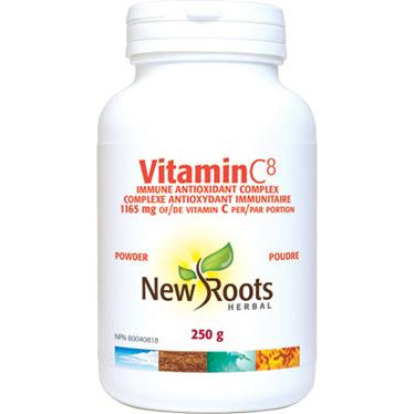 NEW ROOTS HERBAL Vitamin C8 Powder 250g