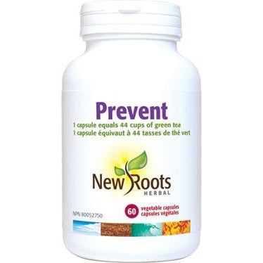 NEW ROOTS HERBAL Prevent 60 Vegetable Capsules