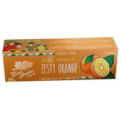GREEN BEAVER Zesty Orange Toothpaste Fluoride-Free 75 ml