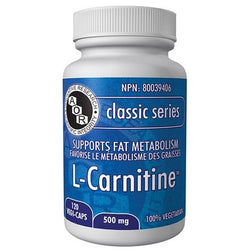 AOR L-Carnitine 500 mg 120 Vegi-Caps