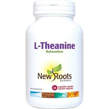 NEW ROOTS L-Theanine 250mg 30 Vegetable Capsules