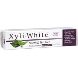 NOW Xyliwhite Neem & Tea Tree Toothpaste Gel 181 g
