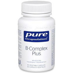 PURE ENCAPSULATIONS Vitamin B Complex Plus  60 Capsules