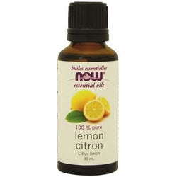 NOW Essential Oils Lemon Oil 100% Pure 30 mL