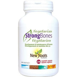 NEW ROOTS HERBAL Strong Bones Vegetarian Formula 270 Capsules